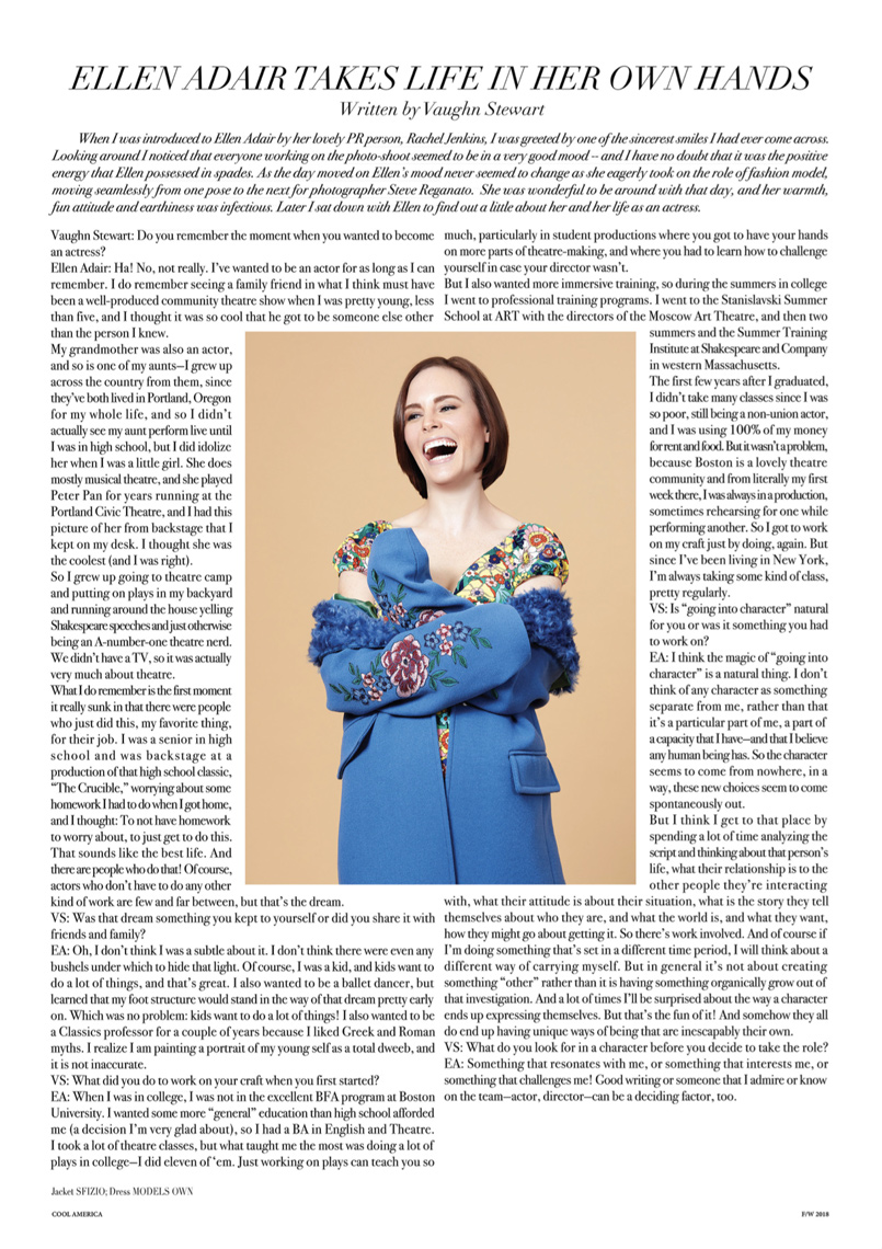 Ellen Adair, Cool America, Celebrity-Page-3